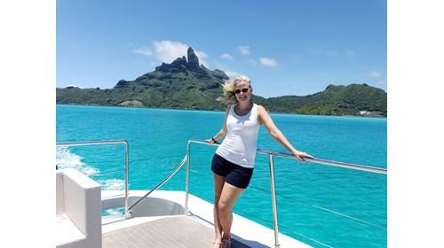 Experiencing yachting in Bora Bora