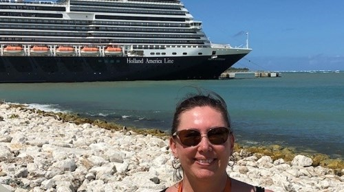 Holland America Nieuw Statendam in Dominican Rep