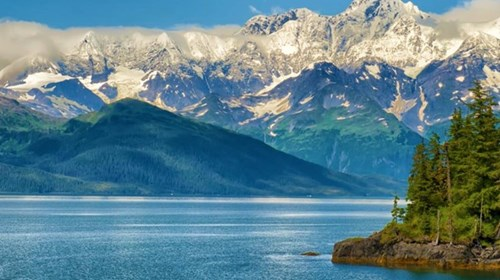 Fjords and Mountains of Alaska