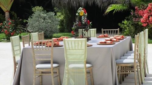 Hard Rock Punta Cana Beach Wedding Set Up