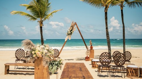 Wedding Location at Dreams Palm Beach