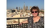 From the roof of our Las Ramblas hotel
