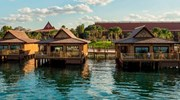 Over the water bungalows at Polynesian Resort