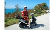 Scootering around Bermuda