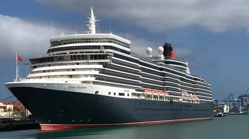 Cunard's Luxurious Queen Elizabeth in Europe