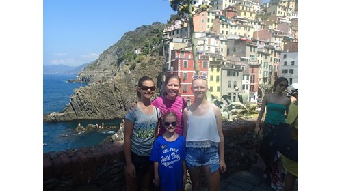 Cinque Terre means five lands- each one beautiful