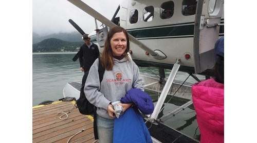 Juneau, Alaska seaplane with Wings floatplanes