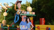 Enjoying Toy Story Land at Hollywood Studios!