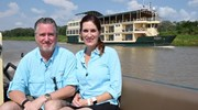 Rob & Kerri on the Amazon River