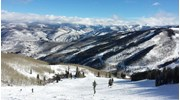View from the top, Vail, CO