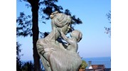 Lovely statue in Sorrento, Italy