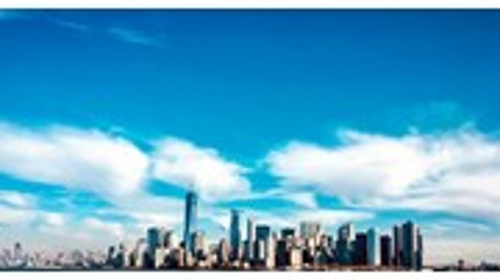 Manhattan Skyline from Harbor Tour