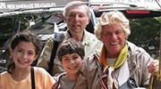 Gloria Greenstein family on Safari in Tanzania