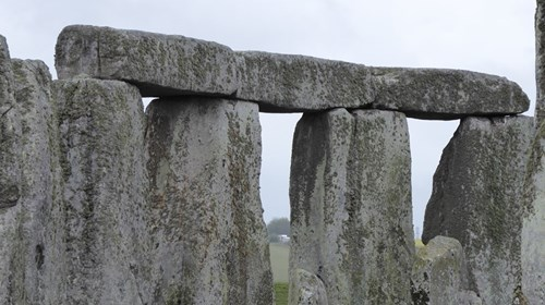 Magnificent Stonehenge in England.