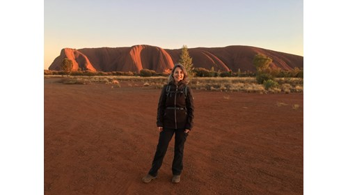 Sunrise in Uluru - April 2019
