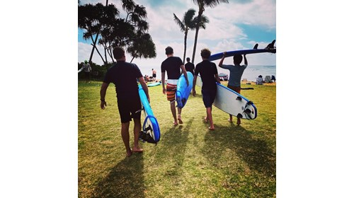 Family Surf Session