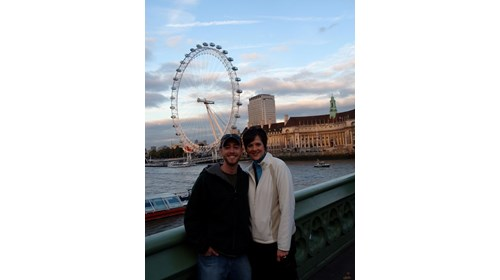 We just loved the London Eye