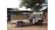 Getting ready for a game drive!