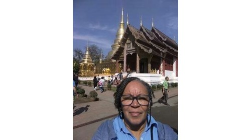this is in Chiang Mai while visiting the temples