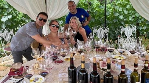 5 Course Private Lunch in Tuscan Vineyard