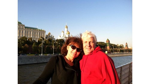 Cruise on Moskva River.