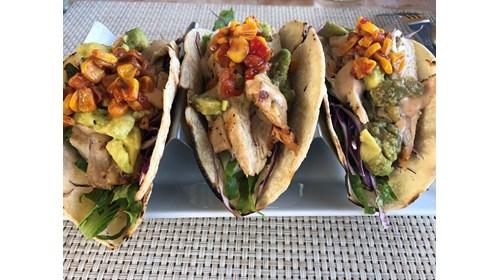Gluten Free Shrimp Tacos - Grand Cayman