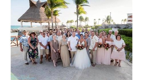 Alyssa and RJ's Wedding at Hard Rock Riveria Maya