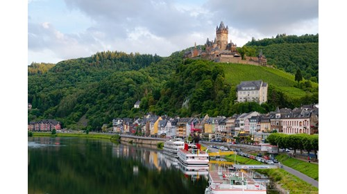 Fall Colors on the Rhine River
