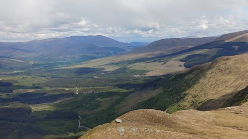 The glens near Ft. William and Ben Nevis