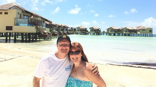 Overwater Bungalows close to home by Karisma