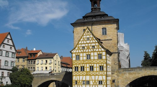 Bamberg Rathaus in Bamberg Germany