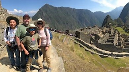 Experiencing Machu Picchu With The Family