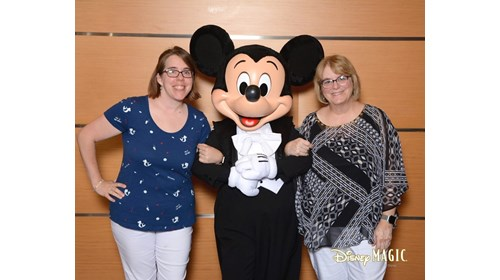 Hanging with Mickey Mouse on the Disney Magic