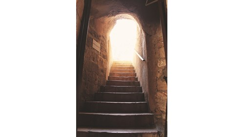 Stairwell in the Old City
