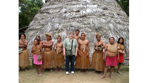 Visiting Peruvian Amazon Tribe