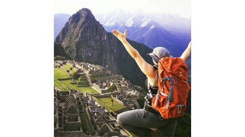 Taking In Machu Picchu And All Its Beauty