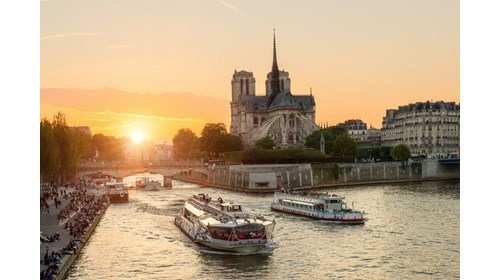Seine River: Paris, France