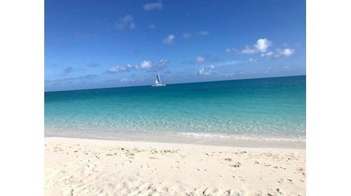 Grace Bay Beach Turks and Cacaos