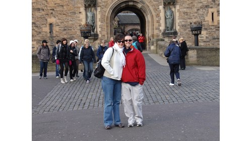 Loving Edinburgh Castle