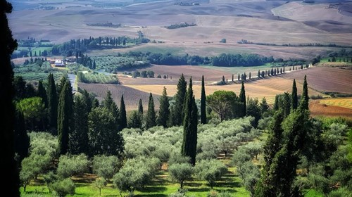 The Val d'Orcia Jewel of Tuscany Italy