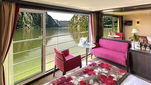 Avalon Waterways Panorama Open Air Balcony Suite