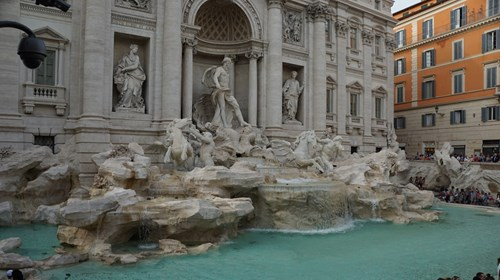 Trevi Fountain, one of my happy places