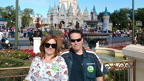 Disney World with the Hubby!
