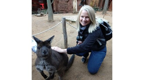 Saying G'Day to the locals - Sydney, Australia