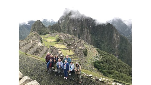 Cruise Specialists clients at Machu Picchu