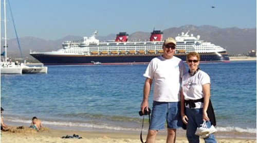 Enjoying a beautiful day in Cabo