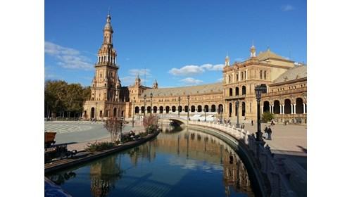 Plaza America in Seville