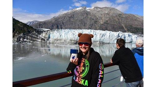 Margerie Glacier in Glacier Bay National Park!