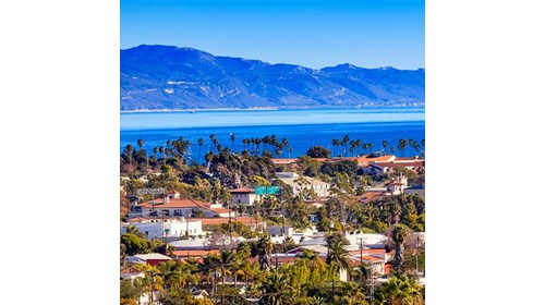 The view of Santa Barbara!  Let's go!