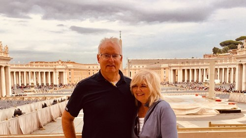 Richard & JoLynn Snelgrove at Vatican City